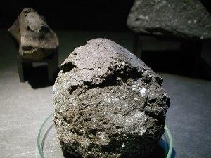 Orgueil meteorite, MNHN Paris