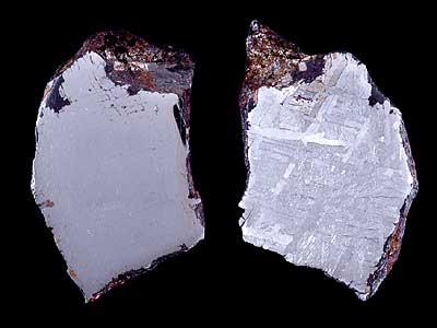 Toluca, météorite de fer, trouvée en 1776 au Mexique